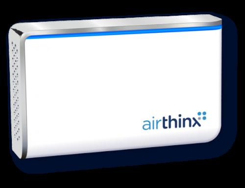 Airthinx – Monitor de Qualidade do Ar Interior